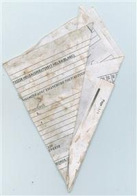 papiers pliés, fig. 8 by yto barrada