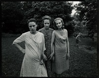 edith, ruth and mae; danville, virginia by emmet gowin