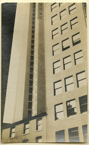 architectural abstraction, new york by walker evans