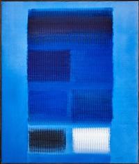 vibrierende farbfelder by heinz mack
