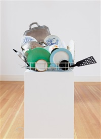 abwaschskulptur (dishwashing sculpture) #4 by nicole wermers