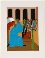 eight studies for the book of genesis by jacob lawrence