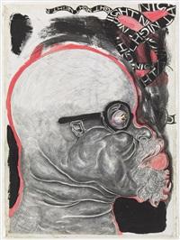 portrait of the artist under night by trenton doyle hancock