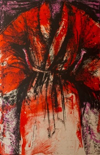 a robe in los angeles by jim dine