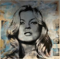 kate moss by mr. brainwash