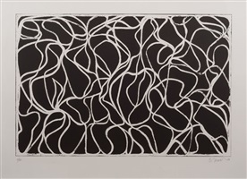 muses with graphite by brice marden