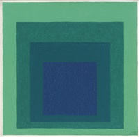 study for homage to the square: reciprocal by josef albers