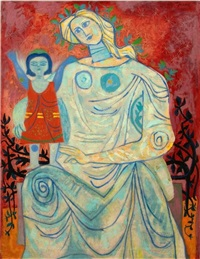 mother and child by byron browne