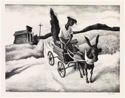 lonesome road by thomas hart benton