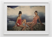 the coloured sky: new women ii, 5 by yang fudong