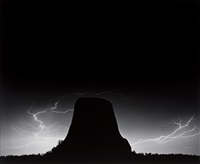lightning- devils tower, wy by bob kolbrener