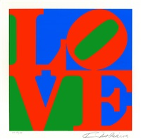 the american dream: love by robert indiana