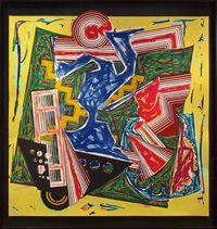 then water came and quenched the fire by frank stella