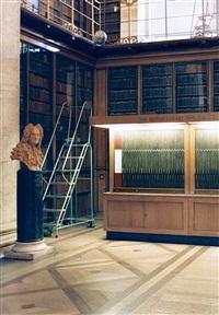 british library london iv by candida höfer