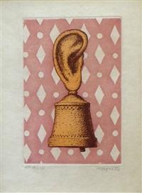 la lecon de musique - son de cloche the music lesson - sound of the bell by rené magritte