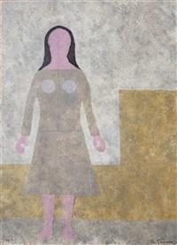 mujer (woman) by rufino tamayo