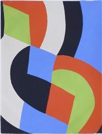 poésie de mots poésie de couleurs, no 2. by sonia delaunay-terk