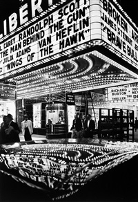 wings of the hawk, new york by william klein