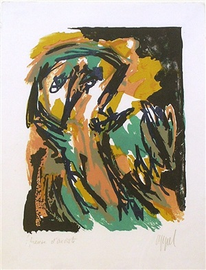 small personnage by karel appel