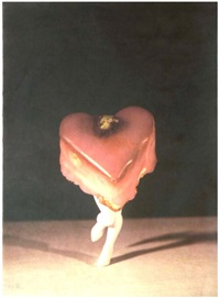 walking petit four by laurie simmons