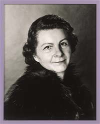 self portrait as my grandmother nancy gregory by gillian wearing