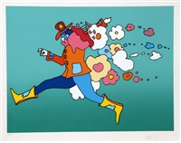 flower jumper by peter max