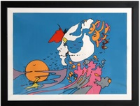 untitled 19 by peter max