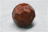 untitled (wooden ball) by ai weiwei