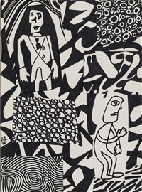 situation xxvii by jean dubuffet
