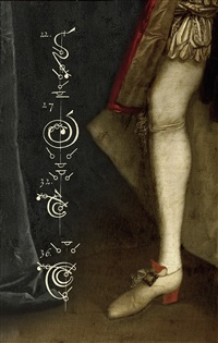 the calligraphy of dance no.15 the duke's red heel c.1735 by tessa traeger