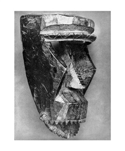 sherrie levine african masks after walker evans by sherrie levine
