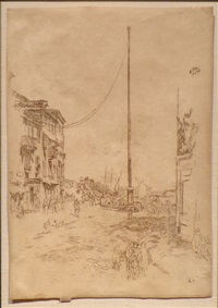 the little mast by james abbott mcneill whistler