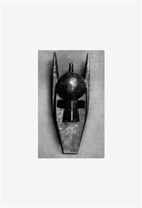 african masks after walker evans: 1-24 (image 6) by sherrie levine