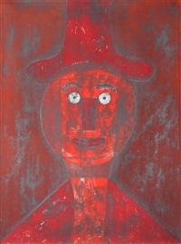cabeza rojo by rufino tamayo