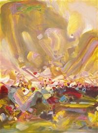 composition xix by chu teh-chun