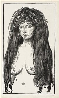 the sin (woll 198 1) by edvard munch