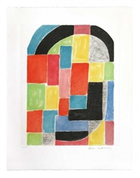 composition - rectangles by sonia delaunay-terk