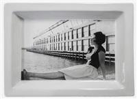 lot 243: cindy sherman self portrait pier 44 tray by cindy sherman