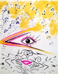 eyelips by kenny scharf