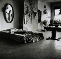 mary frank's bedroom by walker evans