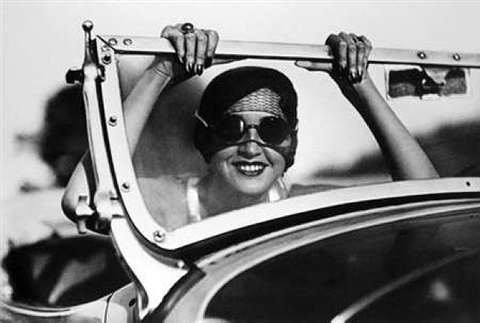 renee - paris to aix-les-bains by jacques henri lartigue