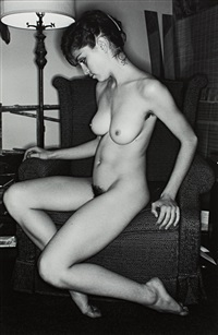 nude (madonna) by lee friedlander