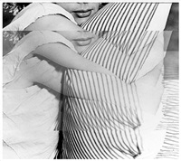 woman with pillow (from bam photography portfolio ii) by john baldessari