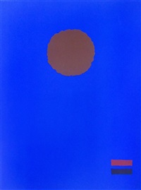 blue night by adolph gottlieb