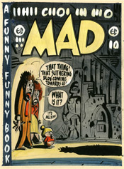 Harvey Kurtzmann : Couverture pour Mad 10 avril 1954 - DC Comics, 2012