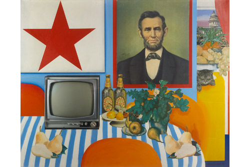 Tom Wesselmann : Still Life #28, 1963