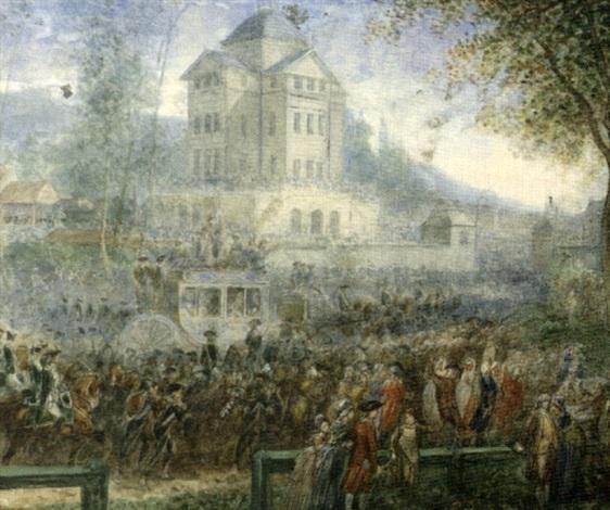 Le Retour de Varennes par Joseph Navlet sur artnet