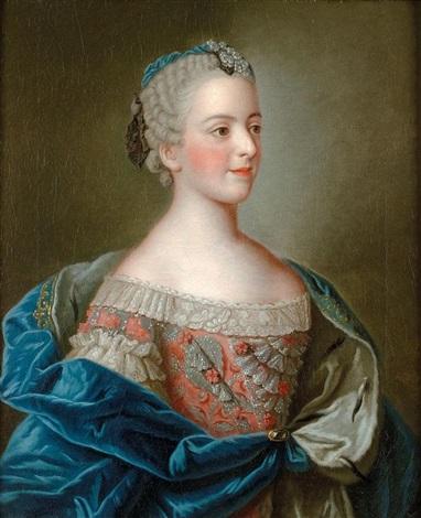 Portrait de Madame Louise de France par Jean Étienne Liotard sur ...
