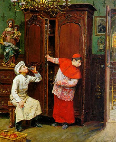 Le vin de messe par Paul-Charles Chocarne-Moreau sur artnet