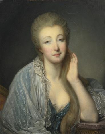 Portrait of the Comtesse Du Barry par Jean Baptiste Greuze sur artnet